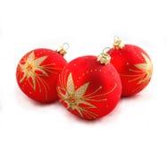 drzewne Boże Narodzenie dekoracje Obrazy Stock