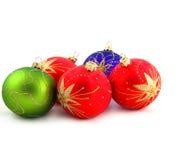 drzewne Boże Narodzenie dekoracje Obraz Stock