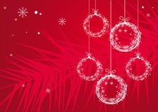 drzewne Boże Narodzenie zabawki ilustracji
