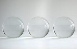 Drzewne szklane piłki Zdjęcie Royalty Free