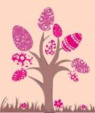 drzewni Easter jajka Obrazy Royalty Free