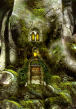 Drzewny fantazja dom Fotografia Royalty Free