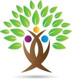 Drzewny logo Obrazy Stock