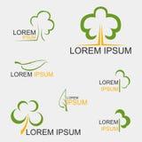 Drzewny logo Obraz Royalty Free