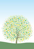 Drzewny projekt Obrazy Royalty Free