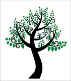 Drzewo życie, rodzinny drzewo royalty ilustracja