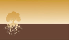 drzewo royalty ilustracja