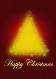 drzewo bożego narodzenia dekoracyjny Fotografia Royalty Free