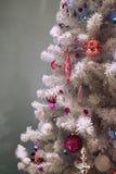 drzewo bożego narodzenia dekoracyjny Obraz Stock