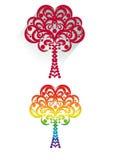 drzewo dekoracyjny Fotografia Royalty Free