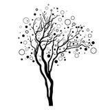 drzewo dekoracyjny wektor Zdjęcia Stock