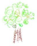 drzewo ilustracyjny Zdjęcie Royalty Free