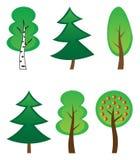 drzewo inkasowy wektor Obraz Stock
