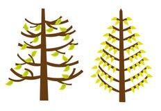 Drzewo kreskówki   Obrazy Stock