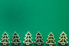 Drzewo kształtny makaron Obraz Stock