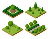 Drzewo lasu camping Obraz Stock