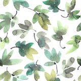 Drzewo liści wzór Obraz Royalty Free