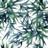 Drzewo liści wzór Fotografia Stock