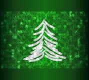 drzewo, mrożone ilustracja wektor