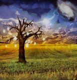 Drzewo pomysły ilustracja wektor