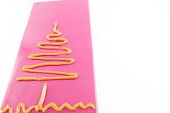 Drzewo rysujący z cukierkiem zdjęcie royalty free