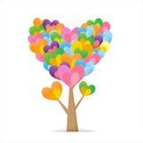 Drzewo serce Fotografia Royalty Free
