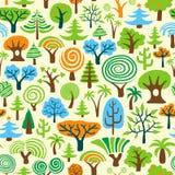 drzewo tapeta ilustracja wektor
