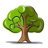 Drzewo - Wektorowy Abstrakcjonistyczny drzewo ilustracji
