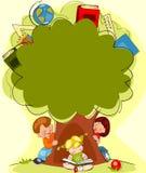 Drzewo wiedza ilustracja wektor