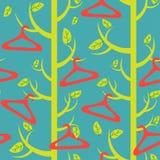 drzewo & wieszaki Zdjęcie Stock