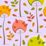 Drzewo wzór Fotografia Stock