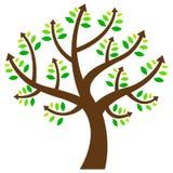 Drzewo z strzała ilustracji