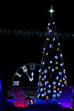 Drzewo z zegarem fotografia stock