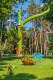 Drzewo zaniechane rzeczy Fotografia Royalty Free