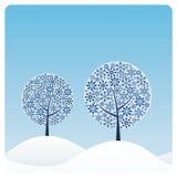 drzewo zimy. ilustracji