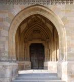 drzwi łukowaty wejścia zdjęcia stock