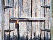 drzwi średniowieczny Obraz Royalty Free
