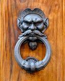 drzwi 2 knocker Zdjęcia Stock