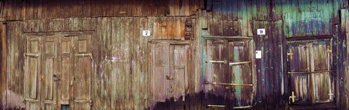 Drzwi abstrakcjonistyczni Fotografia Stock
