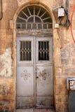 Drzwi - apertura w ścianie obraz stock