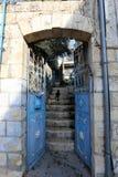 Drzwi - apertura w ścianie fotografia royalty free