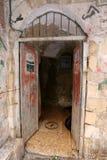 Drzwi - apertura w ścianie obrazy stock