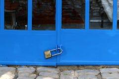 Drzwi - apertura w ścianie zdjęcie royalty free