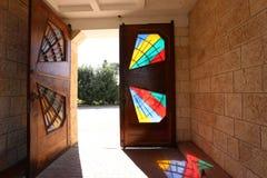 Drzwi - apertura w ?cianie zdjęcie royalty free