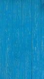 Drzwi błękitny deska Drewniana tekstura Zdjęcia Stock