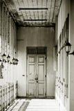 drzwi biały Zdjęcie Royalty Free