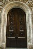 Drzwi buliding bardzo stary jeden Siena fotografia royalty free