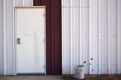 drzwi ściana fotografia royalty free