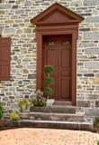 drzwi czerwoni Zdjęcie Stock