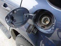 drzwi czołgu gazu fotografia stock